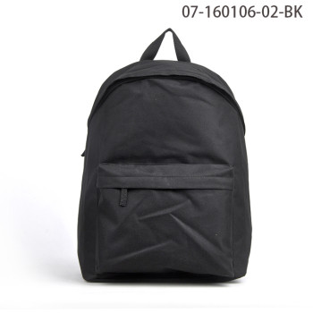 Fashionable Black Design Waterproof Day Backpack