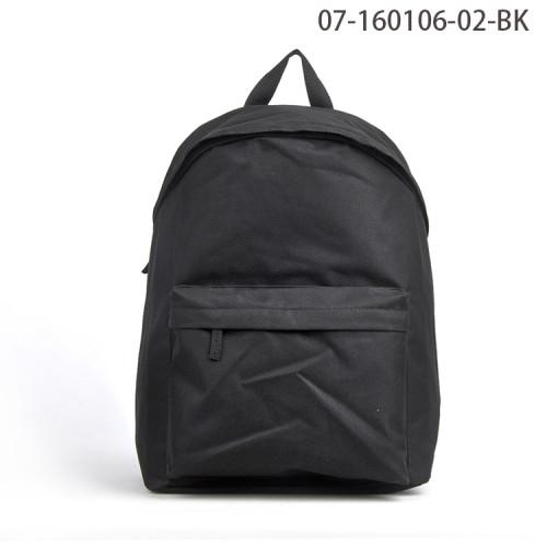 Fashionable Black Design Waterproof Day Backpack