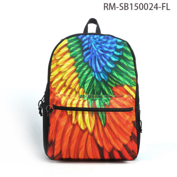 Latest 600D PU / Polyester Fashion Waterproof Backpack 2017