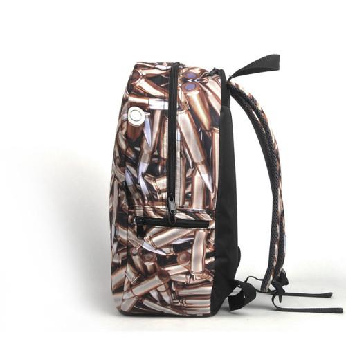 Top Rate Custom Full Printing Waterproof Laptop Backpack Bag