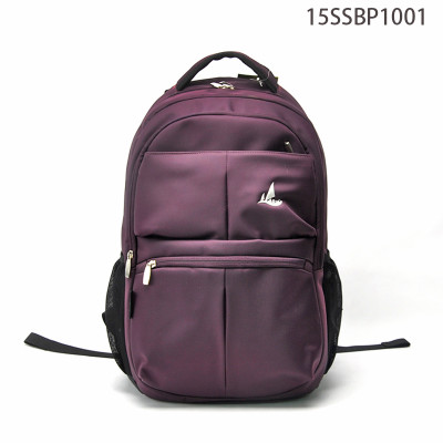 Professional Waterproof Purple Business Backpack Travel Bag