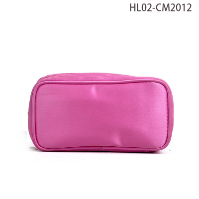 New Arrival Custom Made Satin Travel Cosmetic Bag