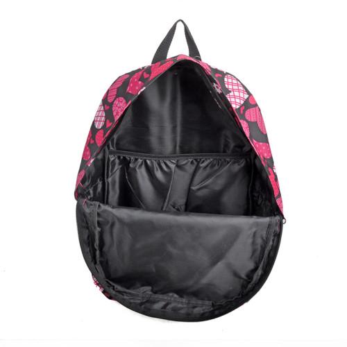 Fashion Print Day Backpack, Custom Made Laptop Backpack