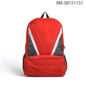 Wholesale Red School Backpack, European Style College School Backpack