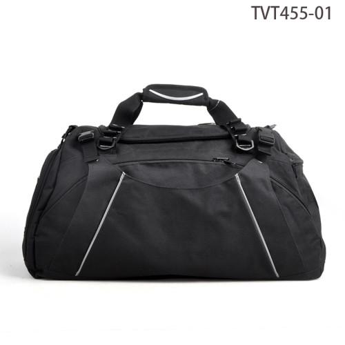 Fancy Design Weekend Travel Bag, Black Tote Travel Men Bag