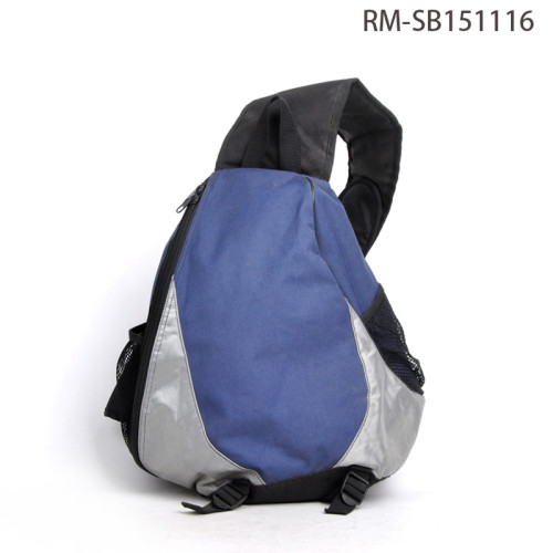 Single Strap Backpack, Wide Strap Shoulder Strap Bag Men