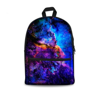 Galaxy Space Hot Style Custom Made Backpack In Bulk