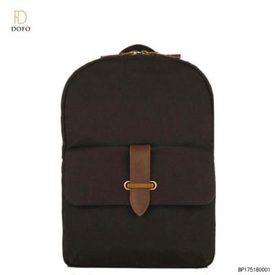 High Quality Handbag Factory Custom Brand Unisex Laptop Bag School Women Backpack Travel 2017 Waxed Canvas Backpacks