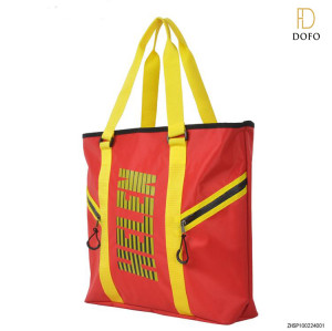 Designer fashion new bag nylon shoulder bag men's promotional sport tote bag