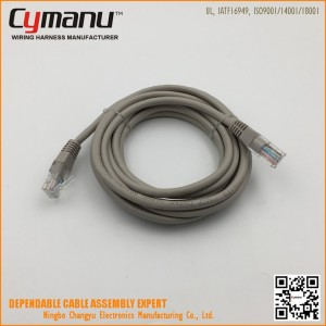 CAT6 Ethernet Cable Patch Cord Shielded Twisted Pair Gigabit Ethernet