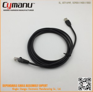 USB to RJ45 Plug cable Assembly Data Cable