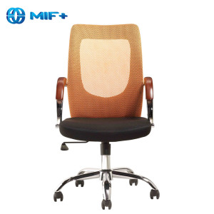 Good quality orange back Mesh Office Chair