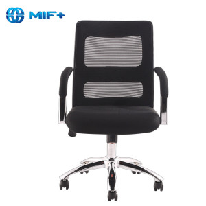 Plastic Armrests green Back Mesh Office Chair