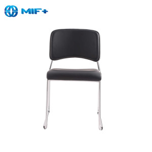 Comfortable Outdoor Leather Metal Leisure Chair