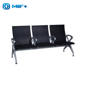 Firmly SS Coating Material On Seat And Back Waiting Chair