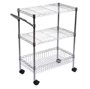 Classics 3-Shelf Ultra Zinc Commercial Utility Cart
