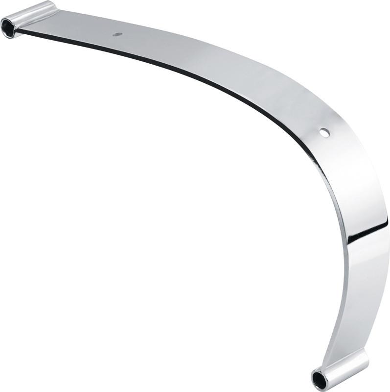chromed armrest