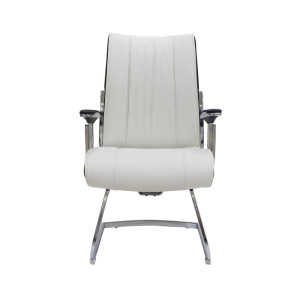 White comfortable office boardroom leather chairs for home office furniture