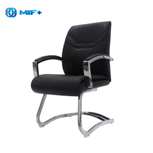 Modern Luxe Mid-Back Executive Chair Ergonomic PU Leather Office Chair