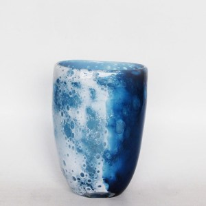 Oceana  Vase-Hand-Blown  Glass