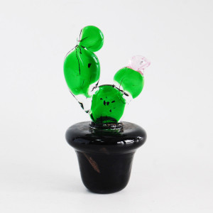 Nopal Cactus Bonsai Shape  Artware Home Decoration