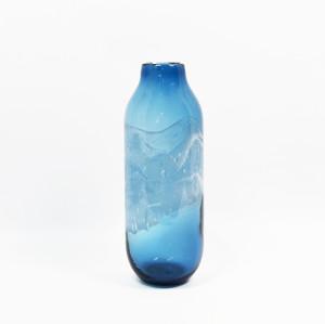 Deep Blue decorative glass vases