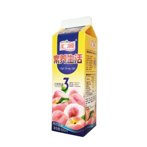 Custom Printing 500ml aseptic package processing and packaging paper for juice