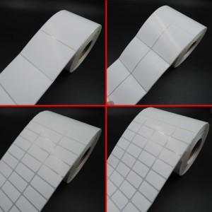 Thermal paper color glassine liner