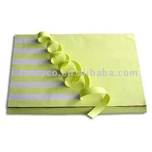 Premier cast coated paper white glasine liner