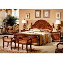 spl-solid wood bed