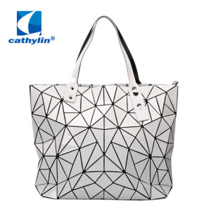 Geometric Diamond Women Fashion Famous Brand Tote Shoulder Bag