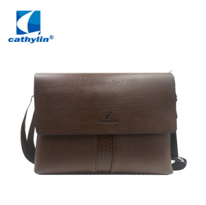 Men's business briefcase messenger bags