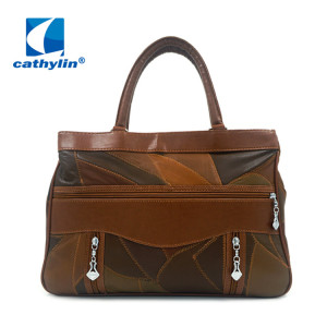 Wholesale MOQ Customized Men PU leather Messenger Bag