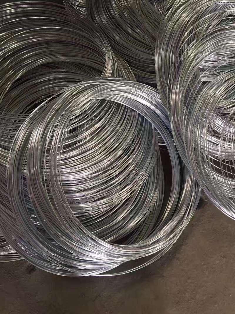 Yan steel high tension hot dip galvanized wire