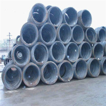 Low carbon hot rolled mild steel wire rod in coils