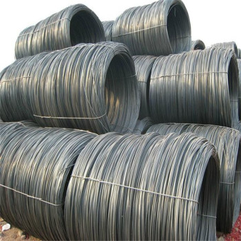 Steel wire rod sae 1008/China manufacturer hot rolled steel wire rod in coils