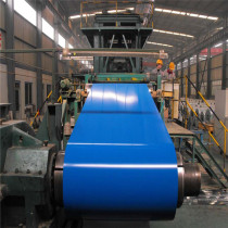 ppgi , galvanized color coated metal sheet in coil / steel coils