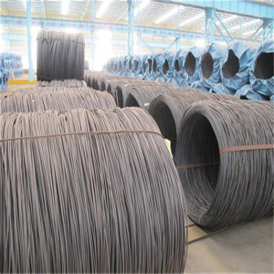 high tension low carbon steel wire rod sae1008 mild iron wire rod 5.5mm