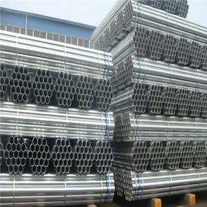 construction building materials galvanized steel pipe