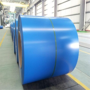 Cold rolled prepainted galvanized steel coil for roofing tiles