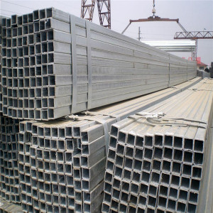 hollow structural welding scaffolding hot dip galvanized steel pipes