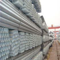 Export building material galvanized steel pipe from china