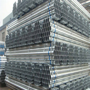 Carbon and galvanized steel pipe for furniture bending use