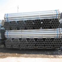 Pre-galvanized steel tube, round erw carbon gi pipe, galvanized steel pipe size mild steel pipes construction fence