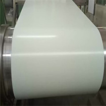 RAL 9013 Customized colors various zinc rate pre painted galvanized steel coil