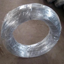 Hot-dipped galvanized iron wire, normal zinc coating