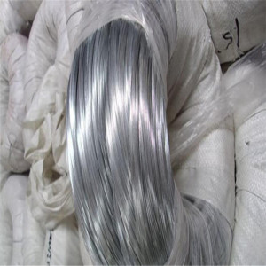 Hot dipped soft galvanized wire