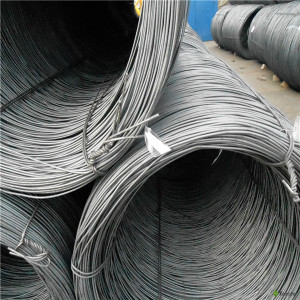 high tensile black iron hot rolled steel wire rod in coils