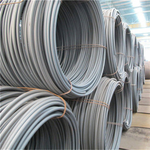 China Q195 low carbon steel wire rod for drawing
