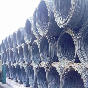 factory supply good price Hot rolled non Alloy steel wire rod in coils